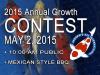 2015 Annual Koi Growth Contest