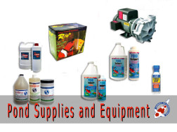 Pond Supplies and Equipment