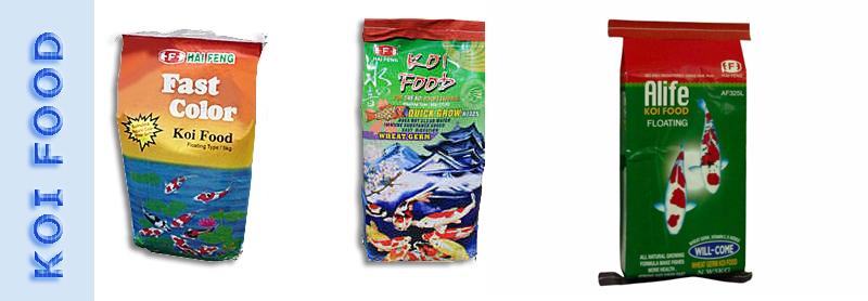 KOI & GOLD FISH FOODS