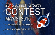 2015 Annual Koi Growth Contest