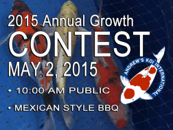 2015 Annual Growth CONTEST MAY 2, 2015