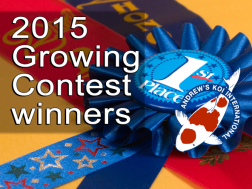2015 Growing Contest winners